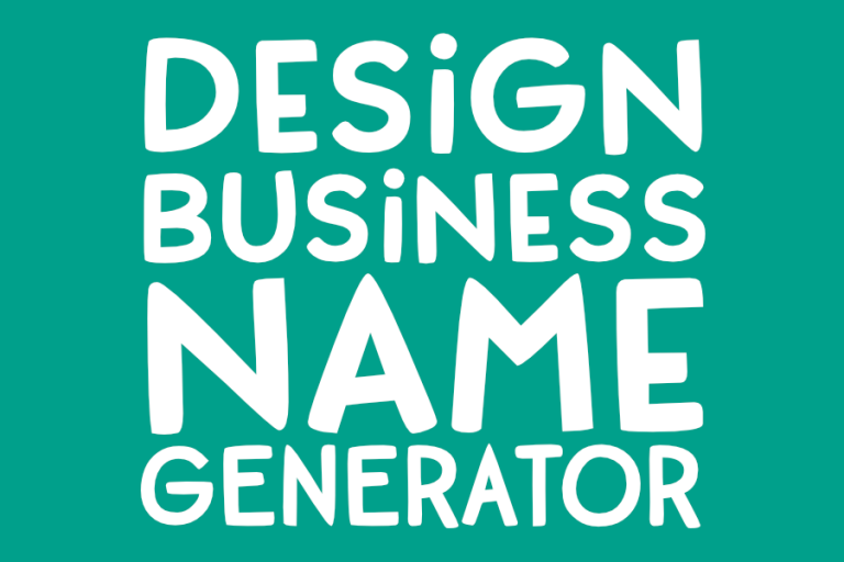 Dorky Business Name Generator! (Design Edition)
