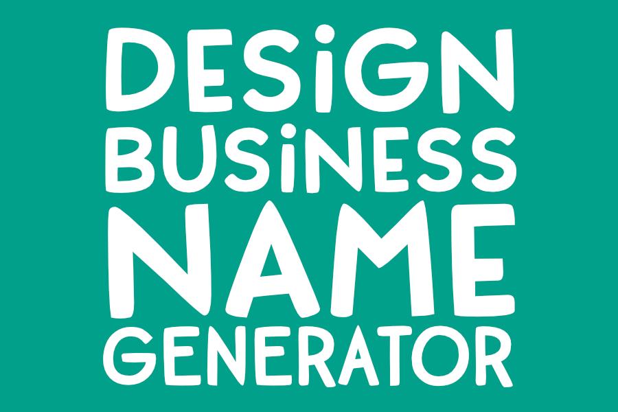 Dorky Business Name Generator! (Design Edition)