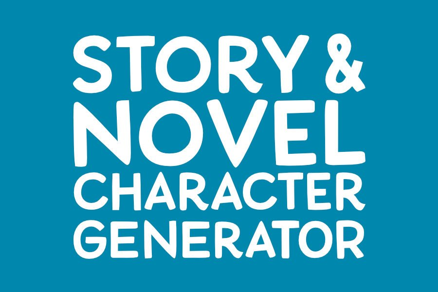 Story and Novel Character Generator!