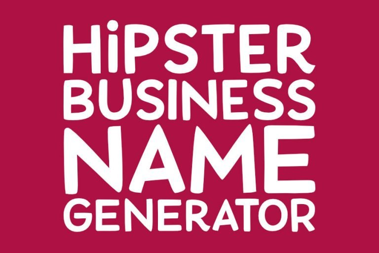 Hipster Business Name Generator!